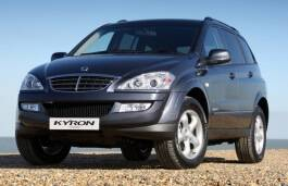 Фото SsangYong Kyron 2012: Closed Off-Road Vehicle